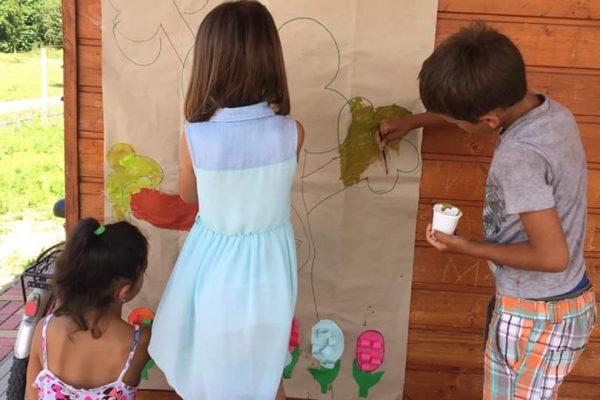 Művészetterápiás tábor- Kalocsa, 2019.06.24-28.